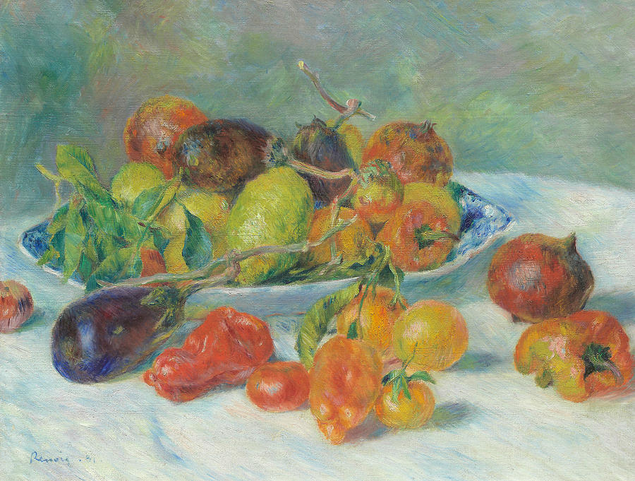 Fruits of the Midi by Auguste Renoir