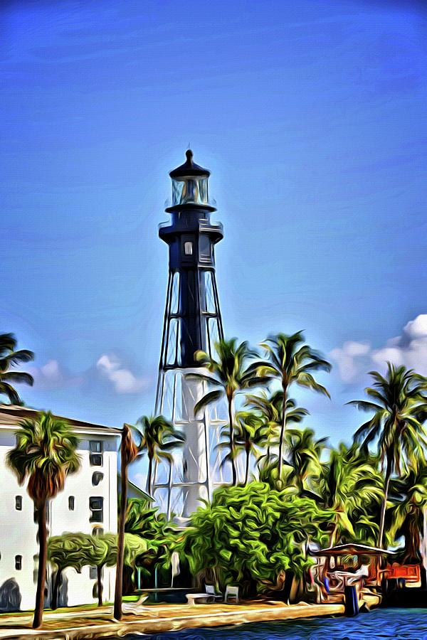 Ft Lauderdale Lighthouse Blues by Alice Gipson