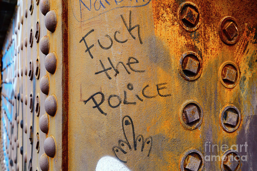 Fuck The Police by James Brunker