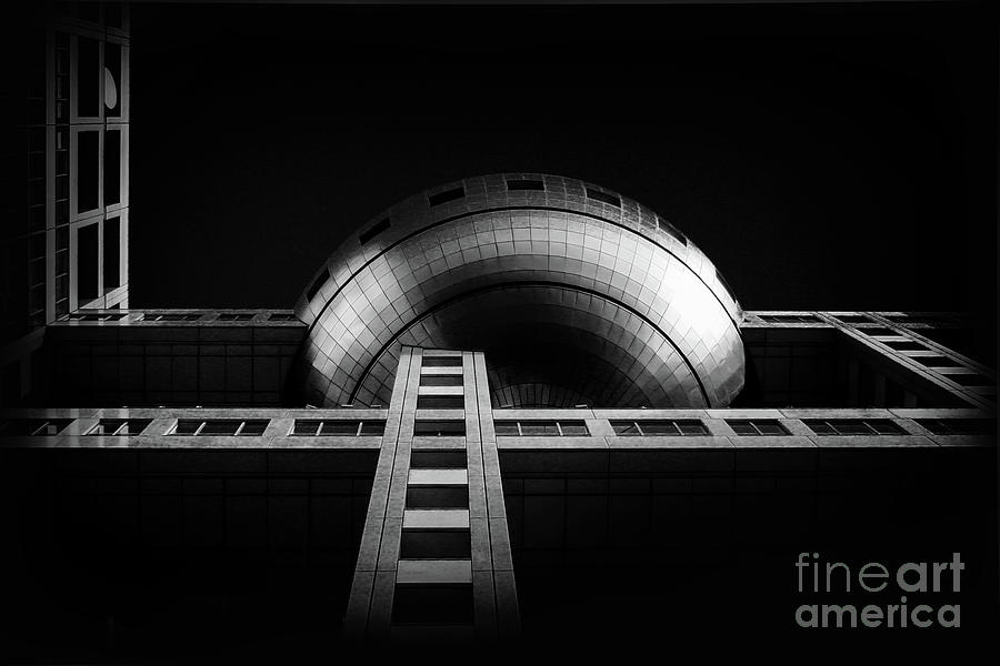 Tokyo Photograph - Fuji Tv Building In Tokyo by Delphimages Photo Creations