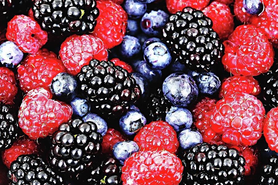 Full Frame Shot Of Fresh Fruits Photograph by Piergiuseppe Corvino / Eyeem