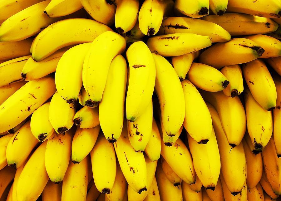 Full Frame Shot Of Yellow Bananas Photograph by Daisy De Los Angeles / Eyeem