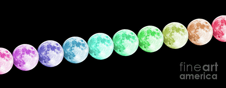 Full Rainbow Moon