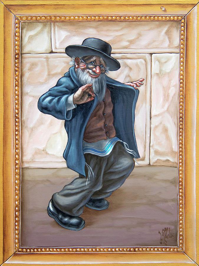 Fun Jewish dance. Freilahs by Victor Molev