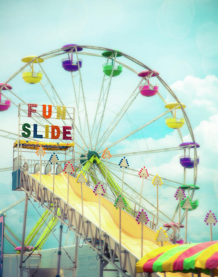 Fun Slide Carnival by Sonja Quintero