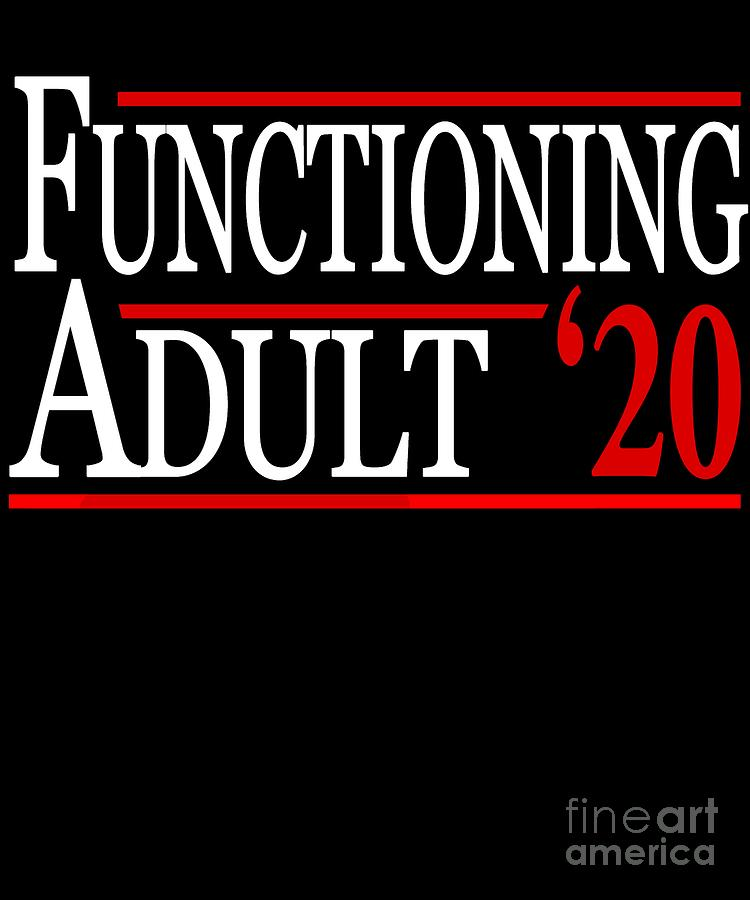 Functioning Adult 2020 by Flippin Sweet Gear