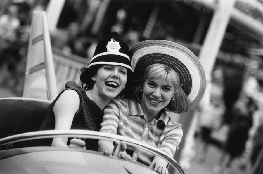 Funfair Riders Photograph by Ronald Dumont