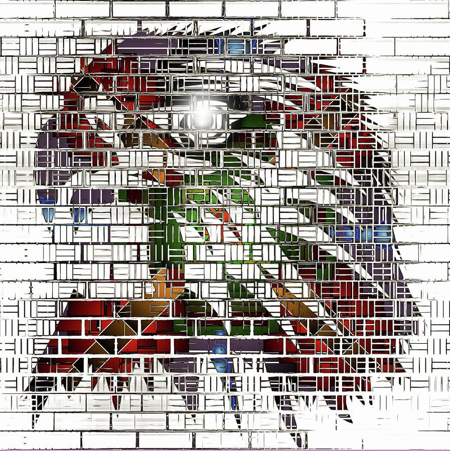 Funky Eagle by Mario Carini