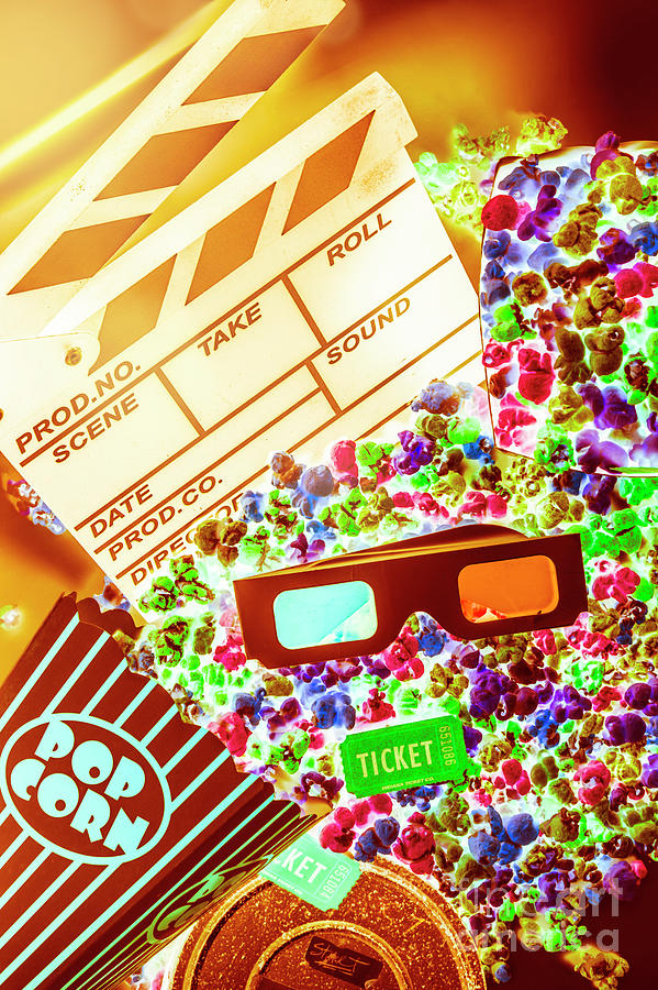 Video Photograph - Funky Film Festival by Jorgo Photography - Wall Art Gallery