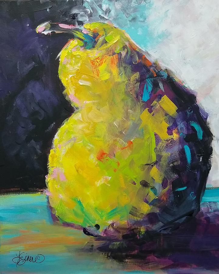 Funky Pear by Terri Einer