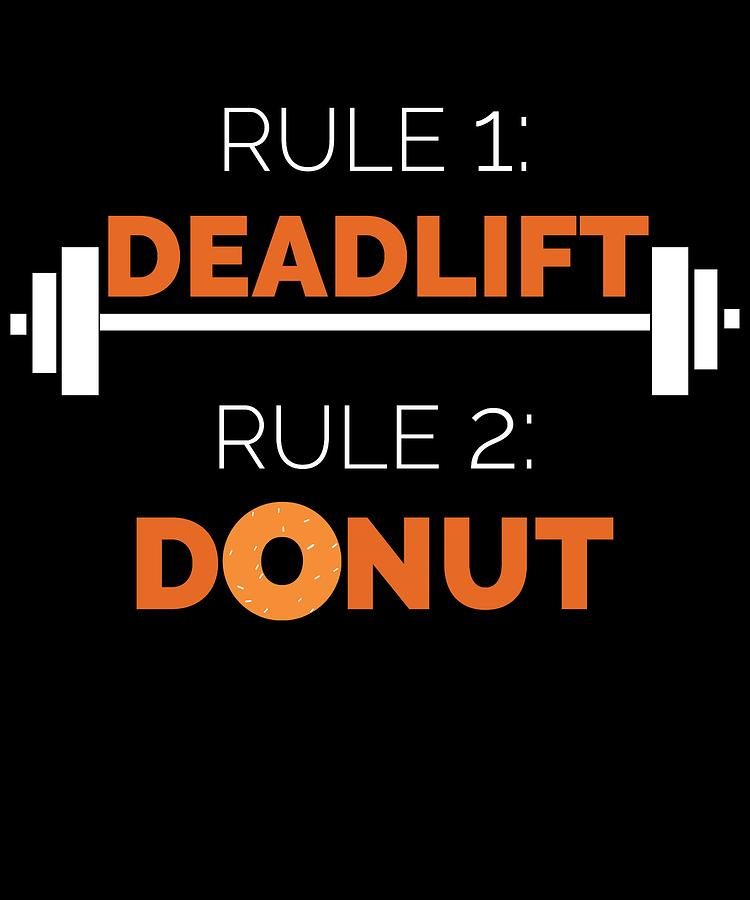 Funny Dead Lift Gym Shirt Rules