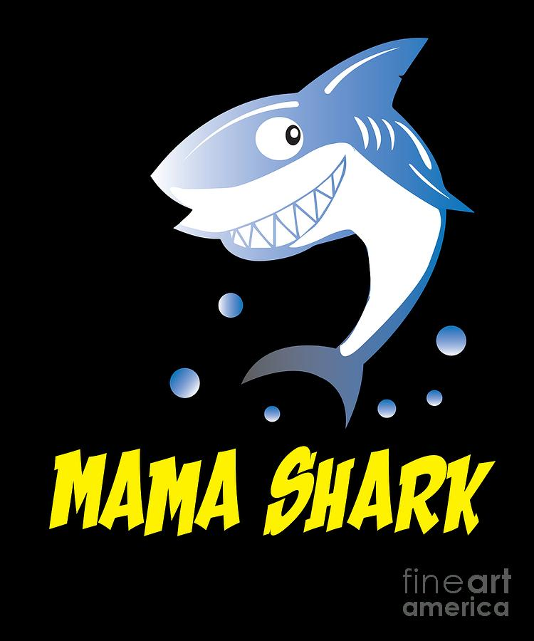 Funny Shark Love Sharks Sea Gift
