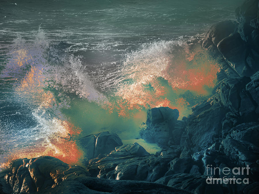 Furia de Neptuno by Alfonso Garcia