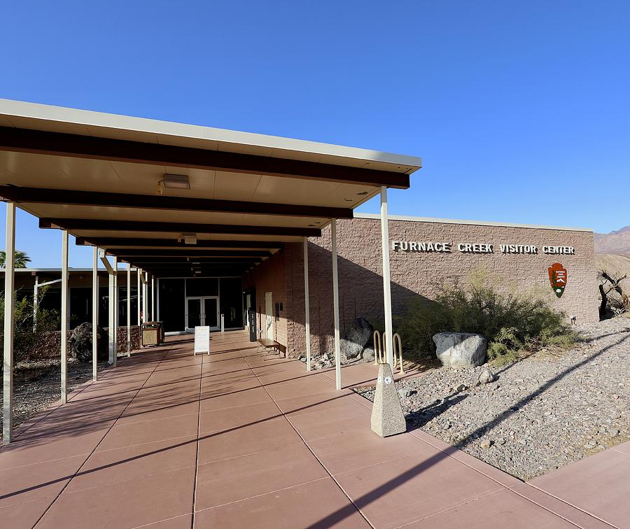 Death Valley National Park Photograph - Furnace Creek Visitor Center by Maria Jansson