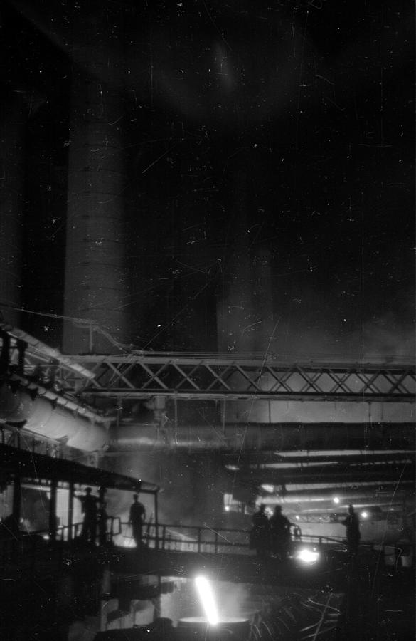 Furnaces By Night Photograph by Felix Man