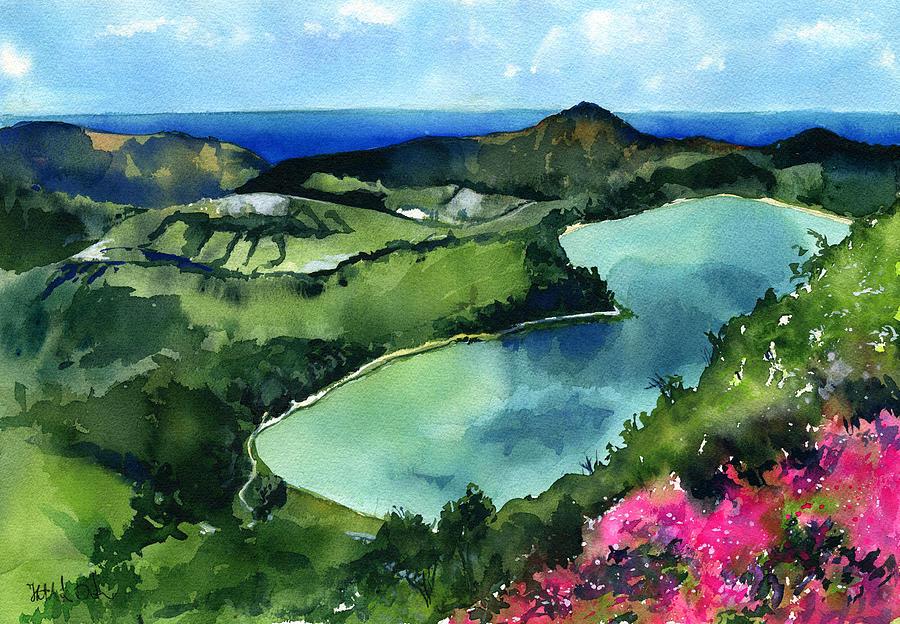 Furnas Lake Azores Portugal by Dora Hathazi Mendes
