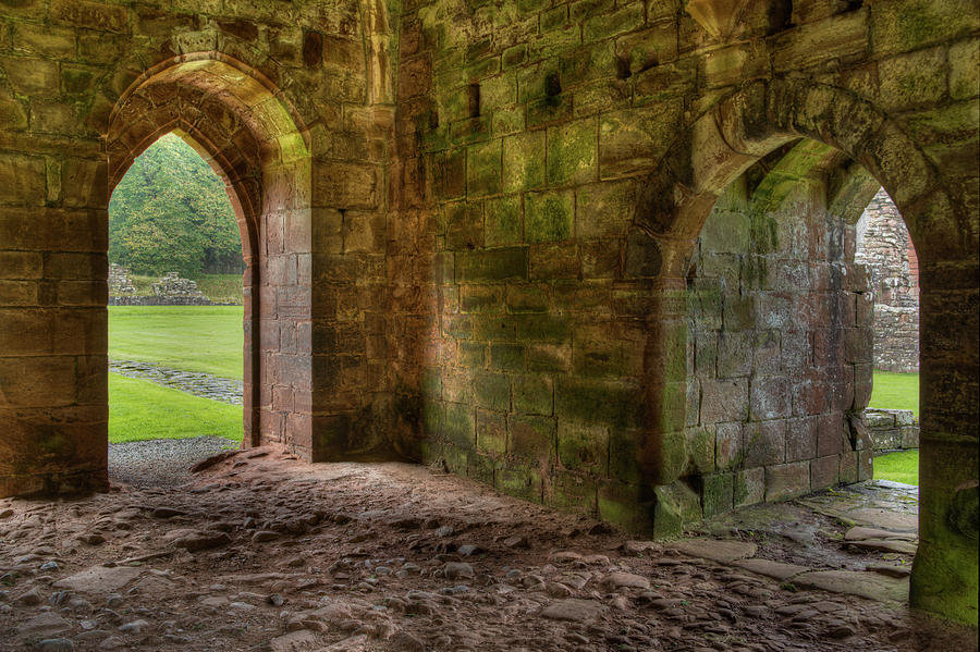 Furness Abbey Arches by Dennis Dame