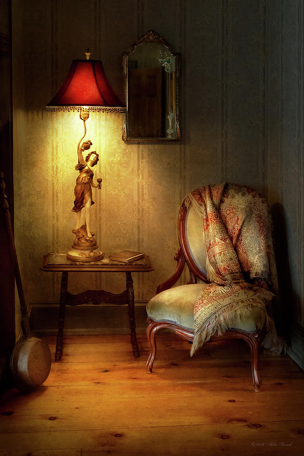 Furniture - Chair - Great Granny's old chair by Mike Savad
