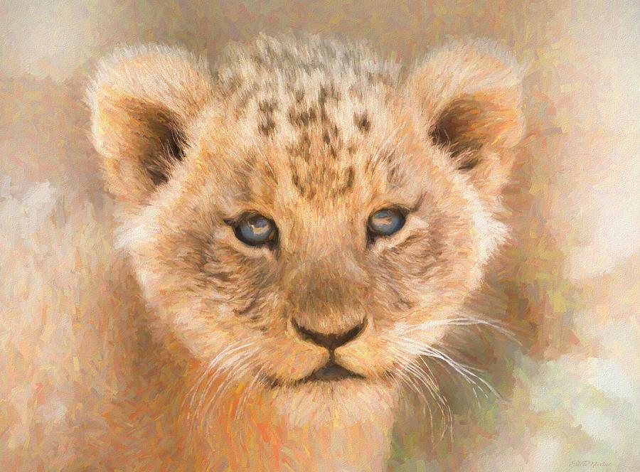 Future King 498 - Painting by Ericamaxine Price