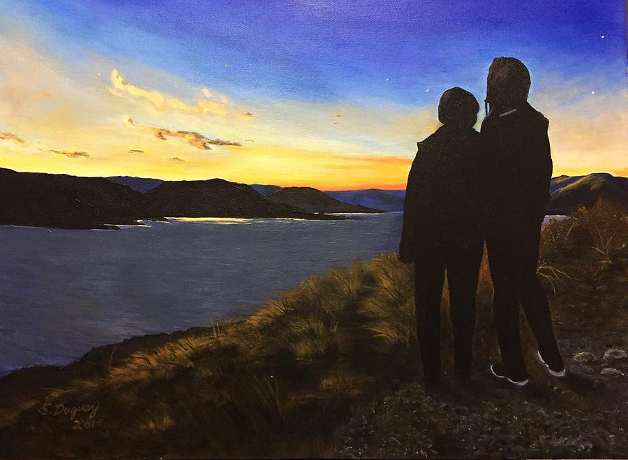 Future Seen in Sunset by Sharon Duguay