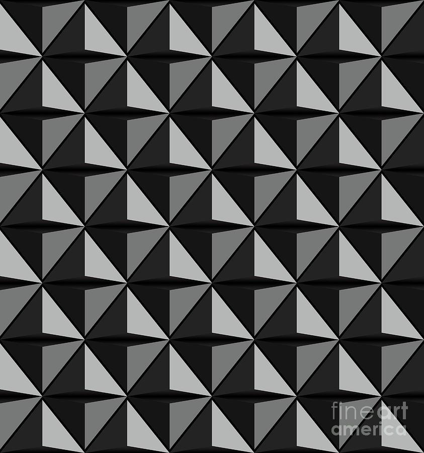 Futuristic triangle-3d -Vector by ATIKETTA SANGASAENG