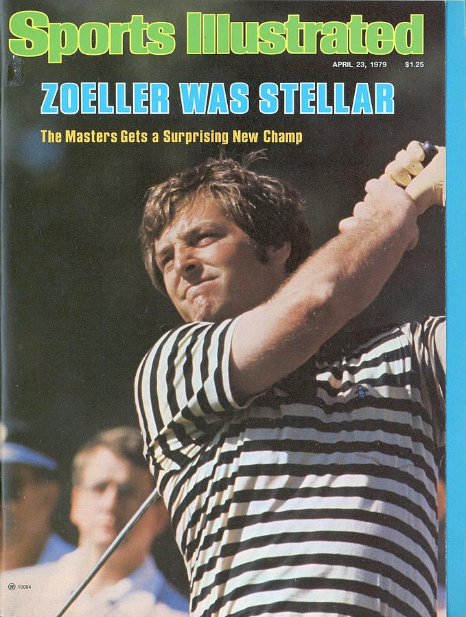 Fuzzy Zoeller, 1979 Masters Sports Illustrated Cover Photograph by Sports Illustrated