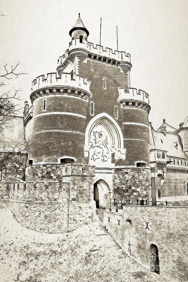Gaasbeek Castle by Jurgen Huibers