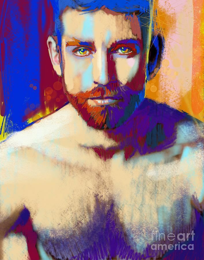 Gabriel portrait by John Castell