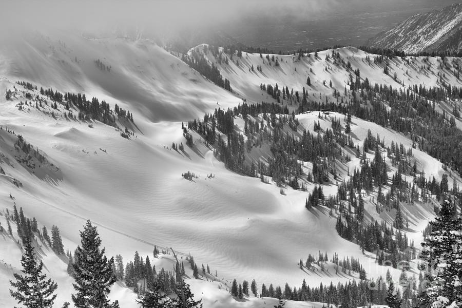 Gad 2 Summit In The Distance Black And White by Adam Jewell