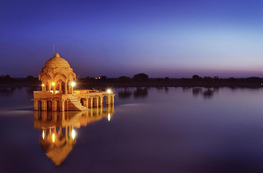 Gadi Sagar Lake, Jaisalmer Photograph by Kartik Jasti Photography