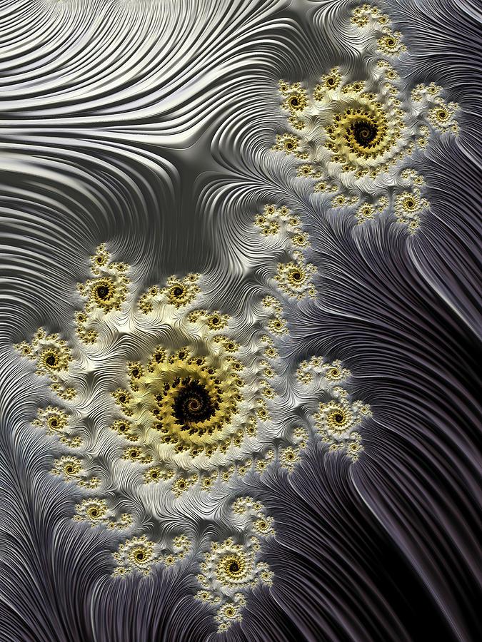 Galaxies Colliding Digital Art
