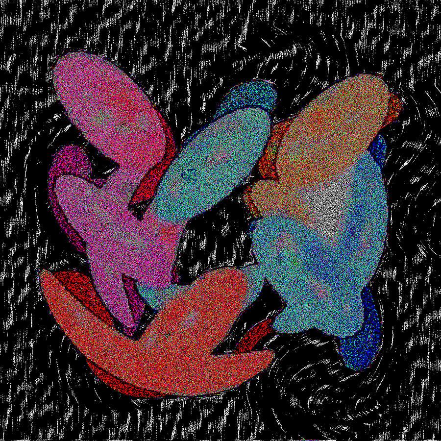 Galaxies Merging by Bruce IORIO