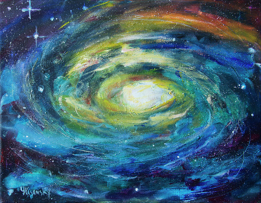 Galaxy by Yulia Kazansky