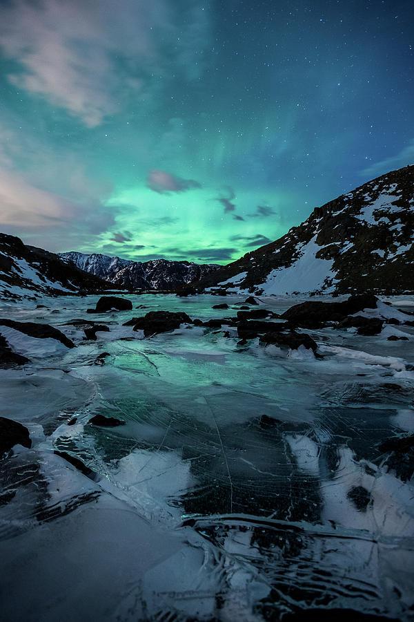 Aurora Photograph - Gale-Force Aurora V by Tim Newton