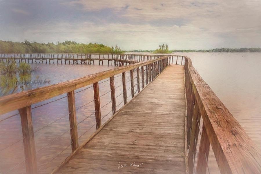 Galena Boardwalk by Steve Kelley