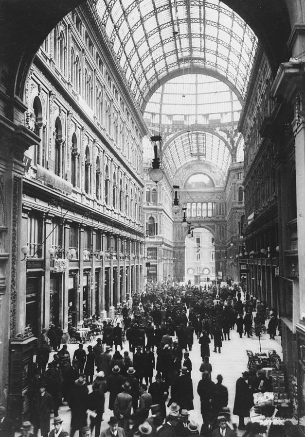 Galleria Umberto Photograph by General Photographic Agency