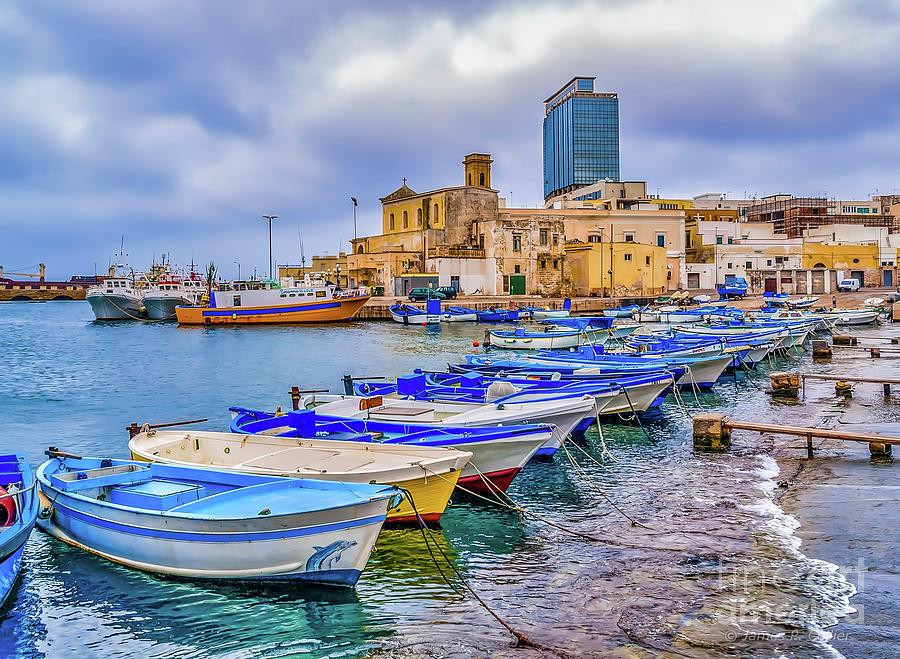 Gallipoli Harbor by Jim Collier