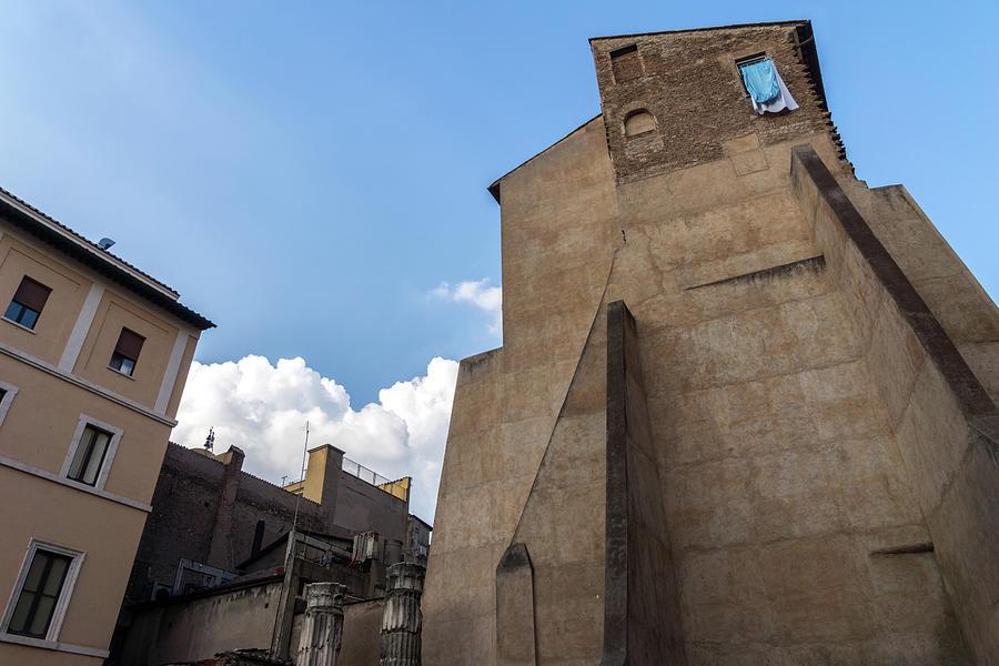 Gallivanting Around in Rome Italy - Unorthodox Home Atop the Ancient City Walls by Georgia Mizuleva