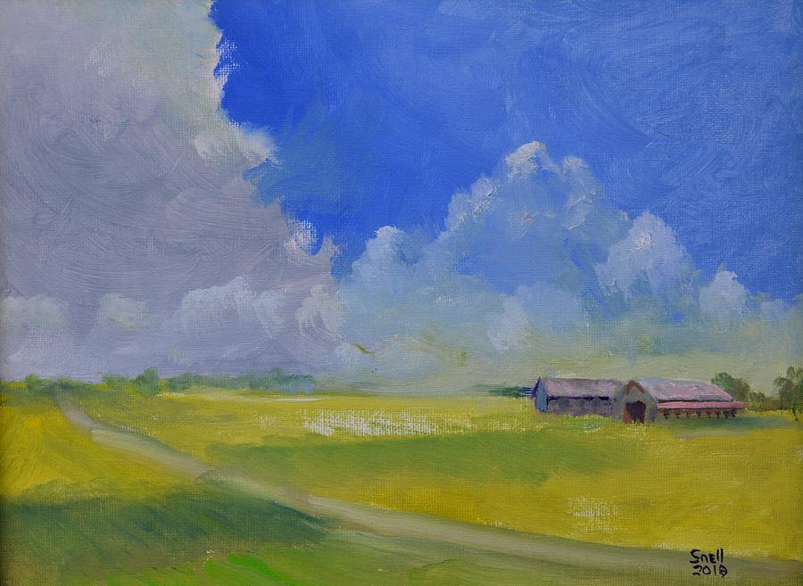 Oil Painting - Gallrein by Roger Snell