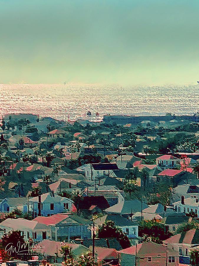 Galveston Postcard by GW Mireles