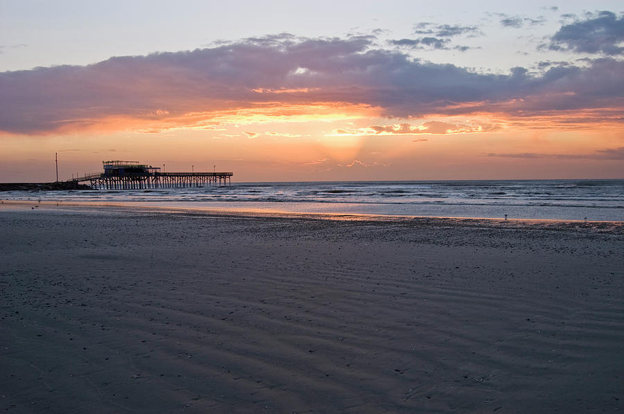 Galveston Sunrise Photograph by Dhuss