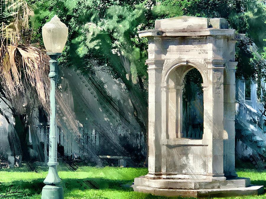Galveston Victorian Park by GW Mireles