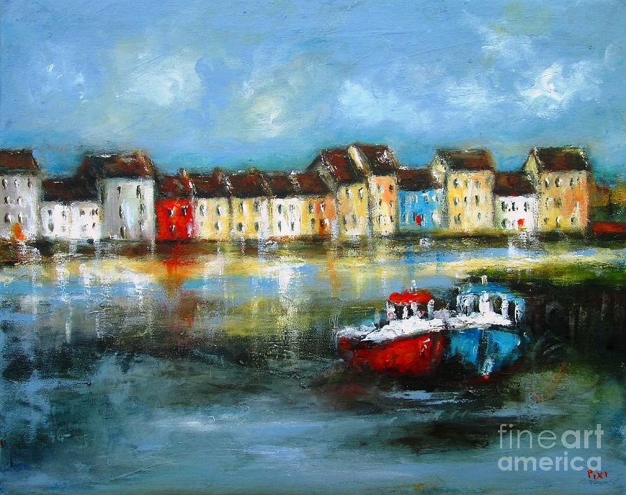 galway art from pixi  by Mary Cahalan Lee- aka PIXI