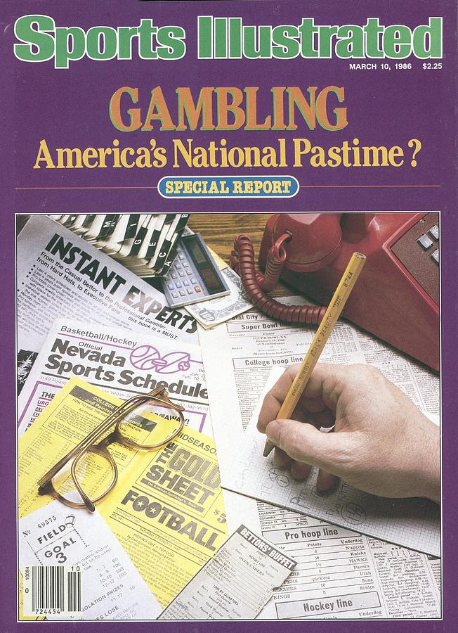 Gambling Americas National Pastime Sports Illustrated Cover Photograph by Sports Illustrated