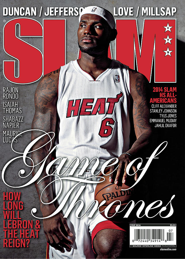 Game of Thrones: How Long Will LeBron & The Heat Reign? SLAM Cover Photograph by Getty Images