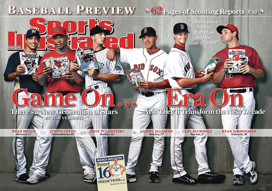 Game On . . . Era On 2008 Mlb Baseball Preview Issue Sports Illustrated Cover Photograph by Sports Illustrated