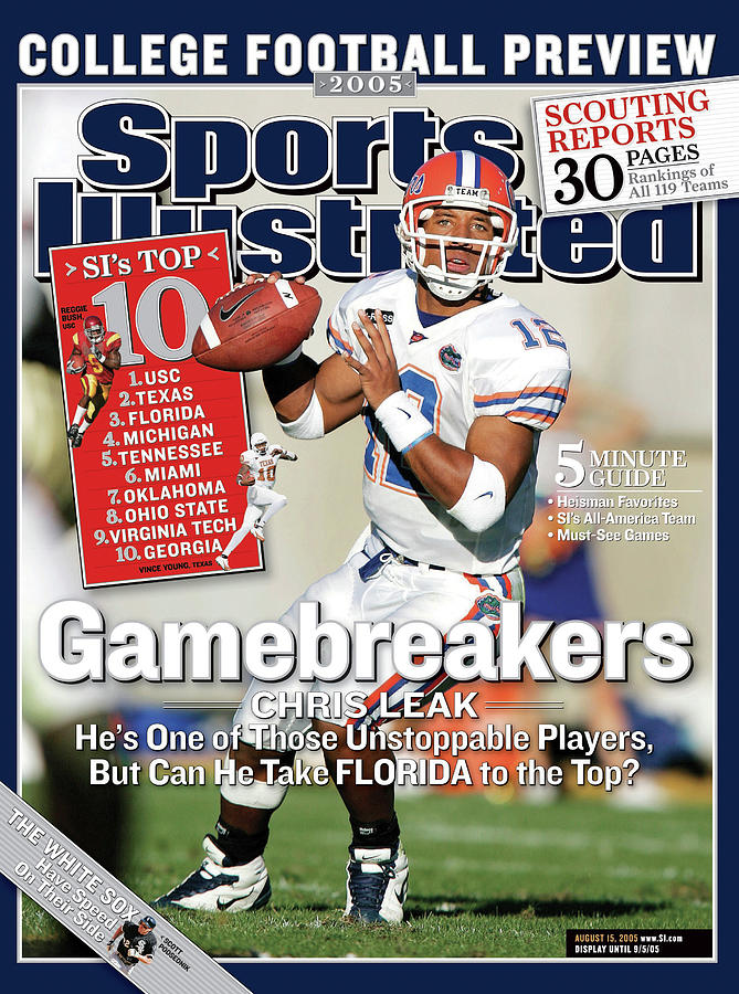 Gamebreakers Chris Leak, Hes One Of Those Unstoppable Sports Illustrated Cover Photograph by Sports Illustrated