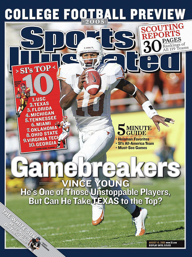 Gamebreakers Vince Young, Hes One Of Those Unstoppable Sports Illustrated Cover Photograph by Sports Illustrated