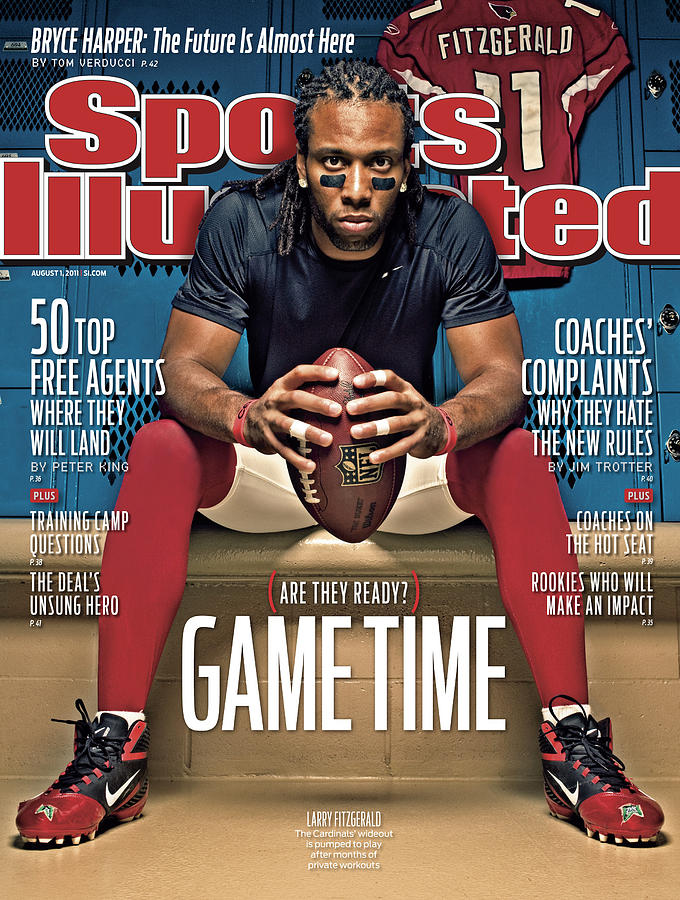 Gametime Are They Ready Sports Illustrated Cover Photograph by Sports Illustrated