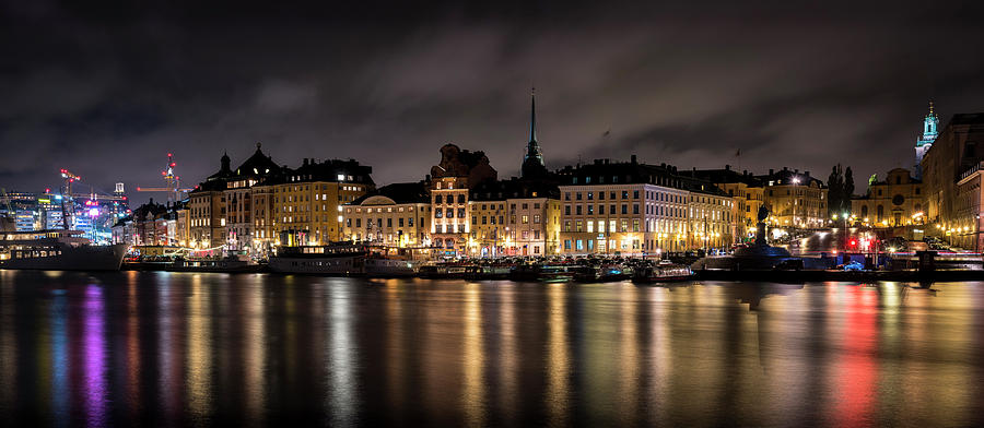 Gamla Stan From Skeppsholmen Photograph